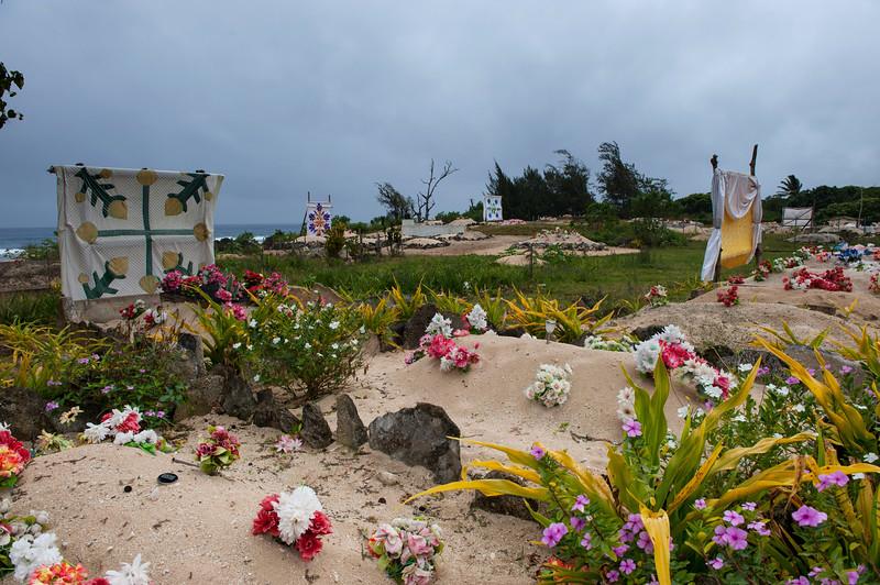 Cemetary - Eua Is., Tonga