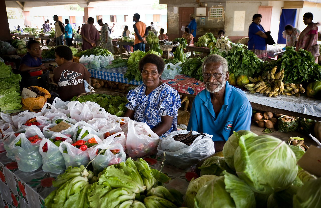 At the vegetable market in Luganville.<br /> <br /> Location: Santo island, Vanuatu<br /> <br /> Lens used: 17-55mm f2.8 IS