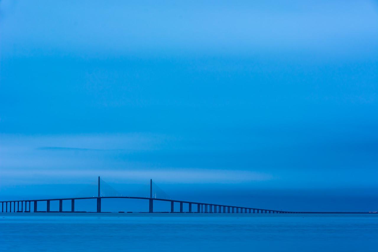 Skyline Bridge - Blue Hour