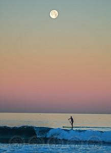 Paddle Boarder La Jolla Shores, Ca -2