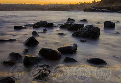 Misty Morning, La Jolla Cove, Ca