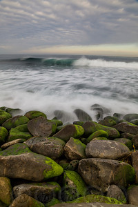Mossy Rocks La Jolla Cove, Ca