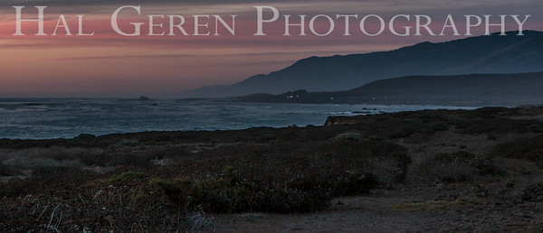 San Simeon Sunset Big Sur, California 1401BS-SSS1