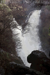 Roadside Waterfall 2 Between Lucia and Ragged Point Big Sur, California February, 2009 0902BS-W2E2