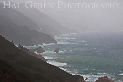 Storm Big Sur, California February, 2009 0902BS-CR6