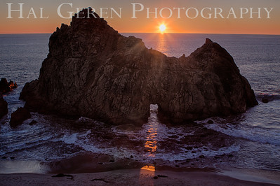 Portal at Pfeiffer Beach Big Sur, California 1312BS-PH5
