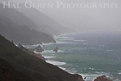 Storm Big Sur, California February, 2009 0902BS-CR6