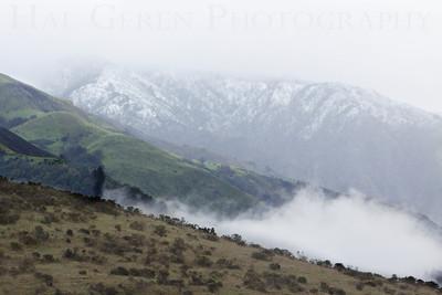 Cloudy Ridge 2 Big Sur, California February, 2009 0902BS-RV3