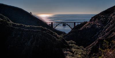 Bixby Bridge Big Sur, California 1312BS-BH1