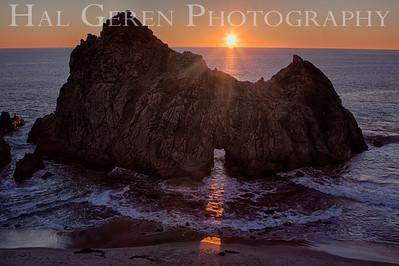 Portal at Pfeiffer Beach Big Sur, California 1312BS-PH5
