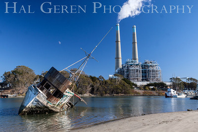 Abandoned Fishing Boat Moss Beach, California 1312BS-SB3