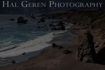 Bodega Bay Coastline Bodega Bay, California 1207BB-V2W2