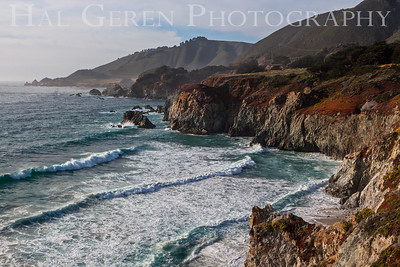 Garrapata Creek Headlands Big Sur, California 1206BS-V2E1