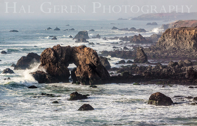 Arch Rock<br /> Bodega Bay, California<br /> 1401BB-AR6