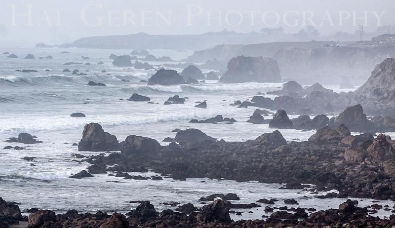 The Fog comes In<br /> Bodega Bay, California<br /> 1401BB-B4