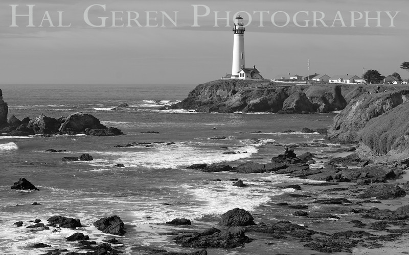 201202 Coast - Pigeon Point 5 BW
