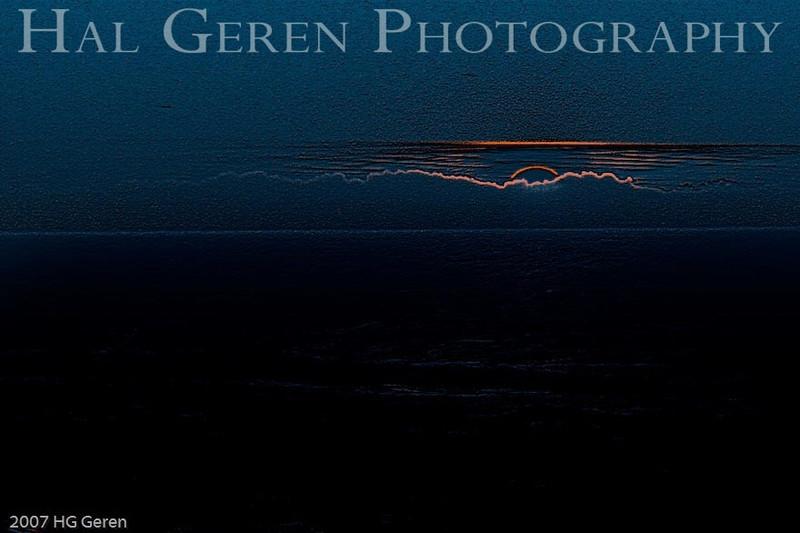 Sunset 1 E3<br /> Point Reyes, California<br /> December, 2007