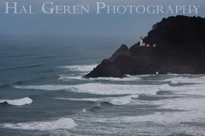 Heceta Head Lighthouse North of Florence, Oregon 0912O-LHH3