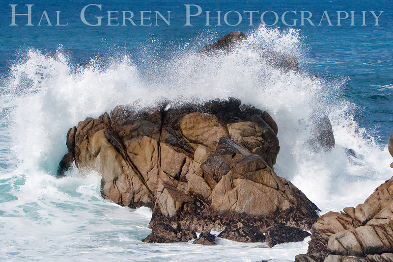 Wave Blast<br /> Point Lobos, California<br /> 0902PL-W2