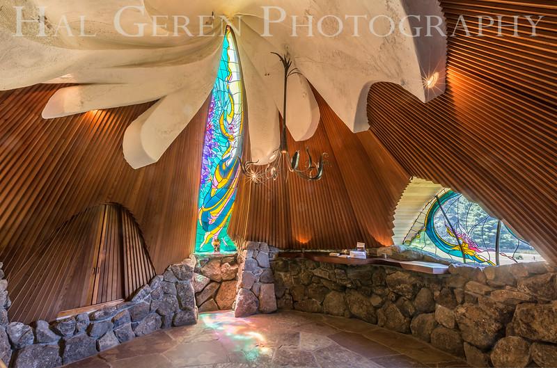 Skyranch Chapel interior<br /> Skyranch, California<br /> 1606FR-CH1