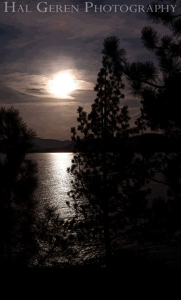 Sunset on Lake Tahoe<br /> Lake Tahoe, California<br /> 1005-S2E1