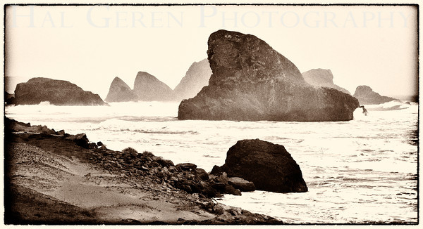 Sea Stacks Southern Oregon Coast 1112NC-SS1E1