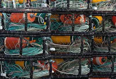 Crab Pots Crescent City, California 1112NC-CCCP1E1