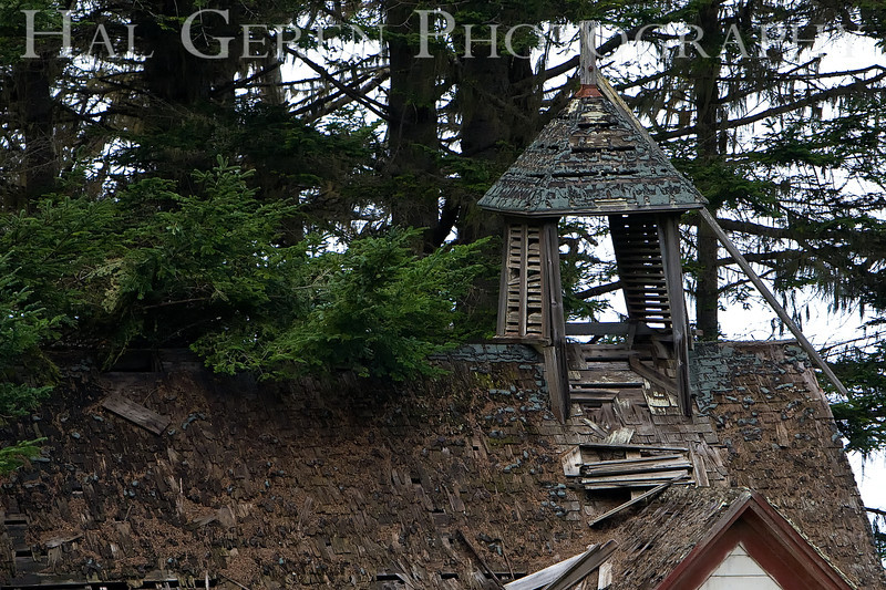 Abandoned Church or Schoolhouse Detail<br /> California North Coast<br /> 0811NC-C1