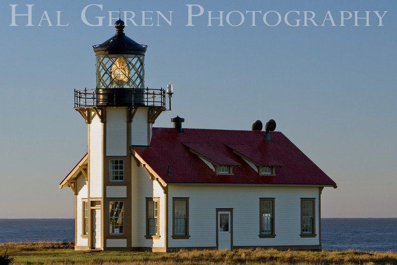 Point Cabrillo Lighthouse; early morning light<br /> 0811NC-PCL1