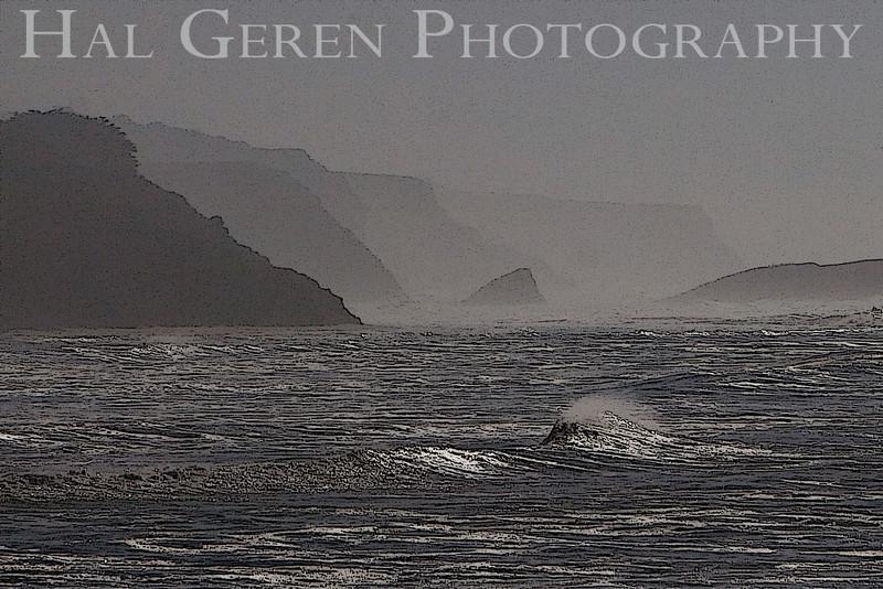 Coast between Santa Cruz and Half Moon Bay<br /> November, 2008<br /> 0811C-W8