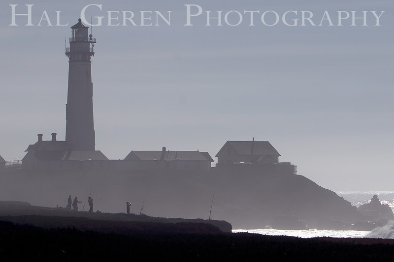 Fishermen<br /> Pigeon Point Lighthouse, California<br /> 0811C-PP4F