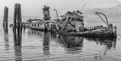 The wreck of the Mary D Hume