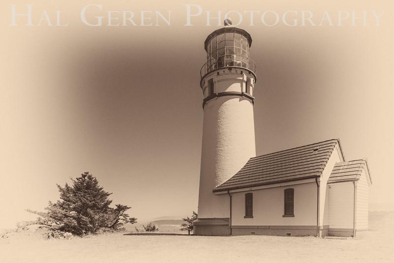 Cape Blanco Lighthouse<br /> Cape Blanco, Oregon<br /> 1608O-CBL2BW1