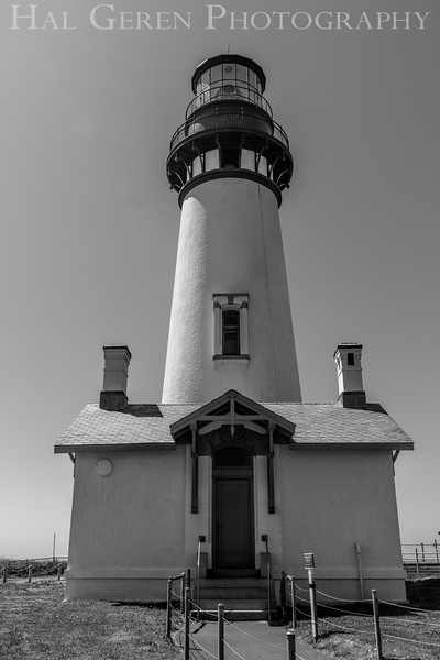 Yaquina Head Lighthouse<br /> Newport, Oregon<br /> 1608O-YHL5BW1
