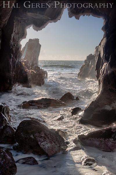 Pfeiffer Beach at Big Sur, California<br /> 1212P-GH2