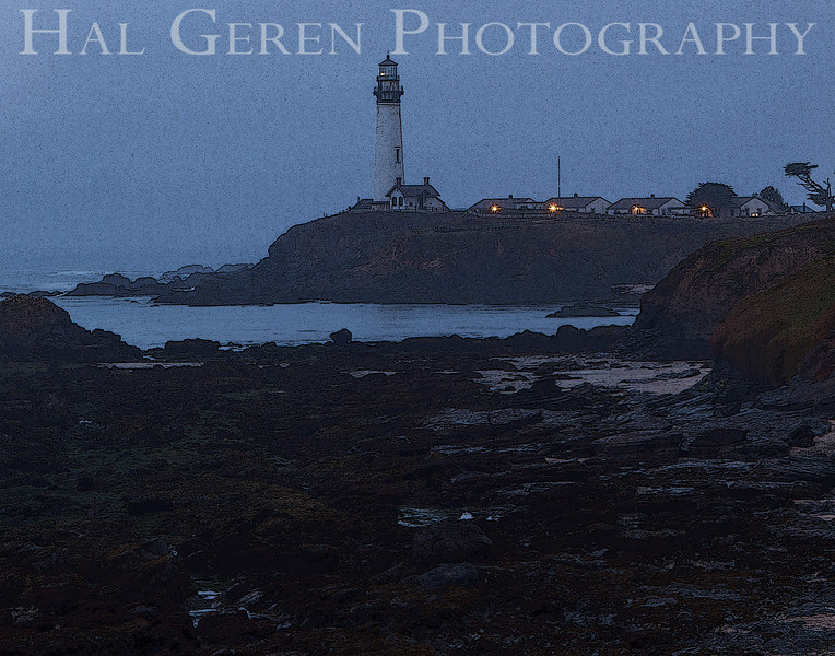 Pigeon Point Lighthouse, California<br /> 1306PP-L2E1