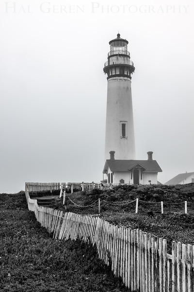 Pigeon Point Lighthouse, California<br /> 1306PP-L10BW