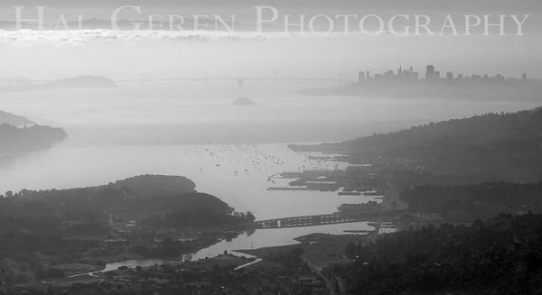 San Francisco from Mount Tamalpais Marin, California 1004PA-SFMT10B