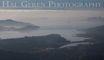 San Francisco from Mount Tamalpais Marin, California 1004PA-SFMT8