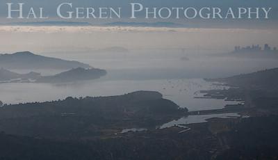 San Francisco from Mount Tamalpais Marin, California 1004PA-SFMT8