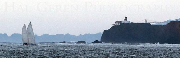 Point Bonita Lighthouse Marin Headlands, California 1001S-PBL1E1