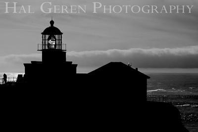 Point Bonita Lighthouse Marin Headlands, California 1001S-BPL4BW