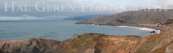Marin Headlands from Fort Cronchite Marin Headlands, California 1001S-FCP1