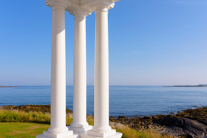 Three Columns, Marshall Pt  Maine