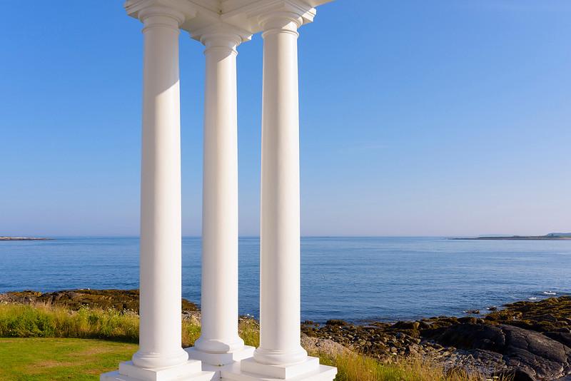 Three Columns, Marshall Pt  Maine