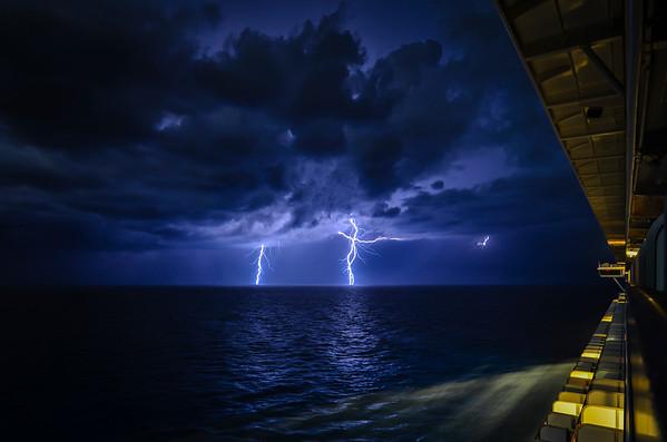 Lightning at Sea II