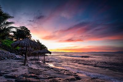 Christmas Sunrise Over Bahia de Banderas