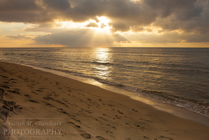 Ke'e Beach Sunset I