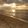 Ke'e Beach Sunset I