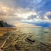 Ke'e Beach Sunset IV